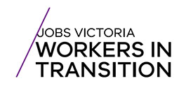 Jobs Victoria Workers in Transition logo