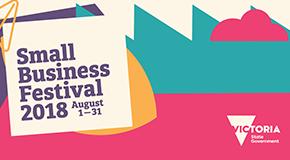 Small Business Festival Victoria banner